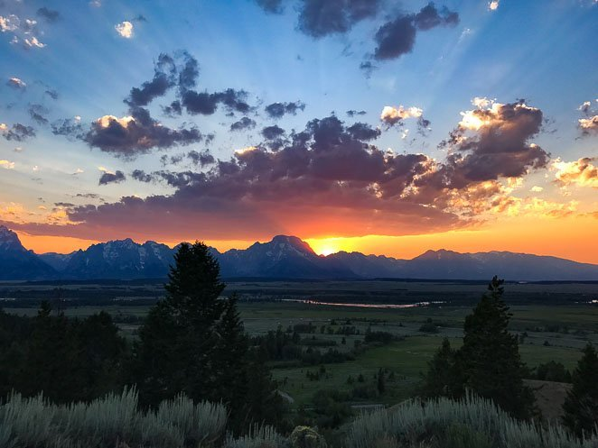Best of the Tetons Sunset