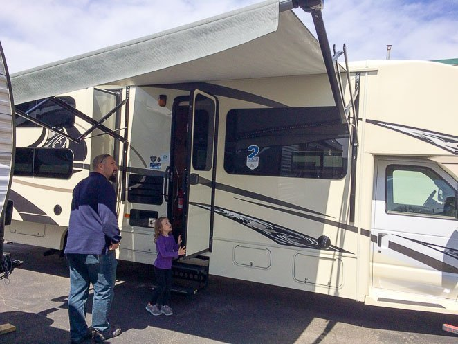 Choosing Family RV with Dad