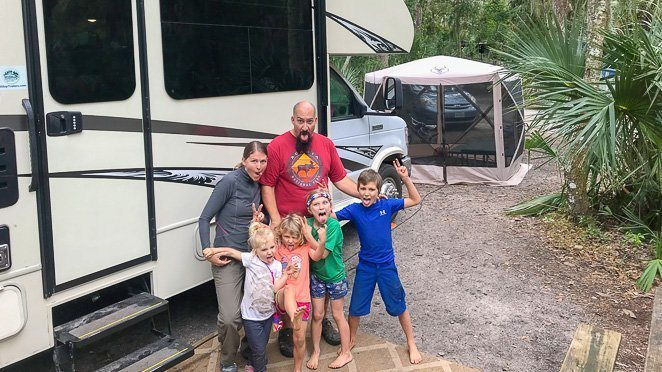 How we became a full time RV family