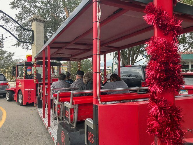 Red Train Trolley Tour