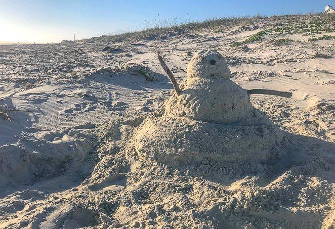 Sandman on the Beach - Cool Bucket List Ideas