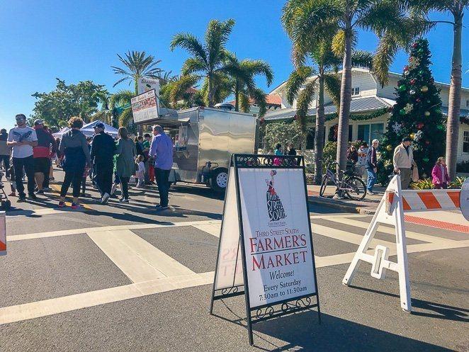 third street farmers market naples FL
