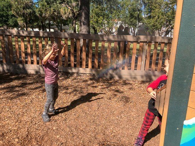 Cacmier Park Naples with Kids spray