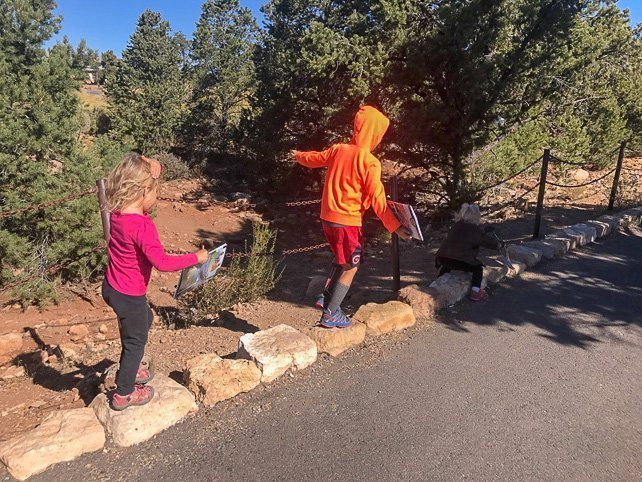 Grand Canyon with Kids Hiking