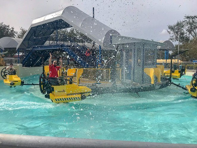 Legoland Aquazone Wave Racer Ride Heights