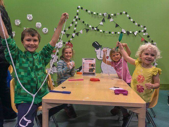 Naples Children's Museum Art room