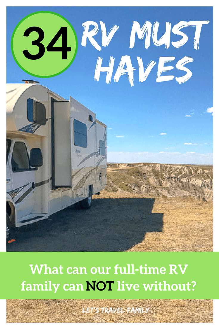34 RV Must Haves That We Cannot Live Without - Let's Travel