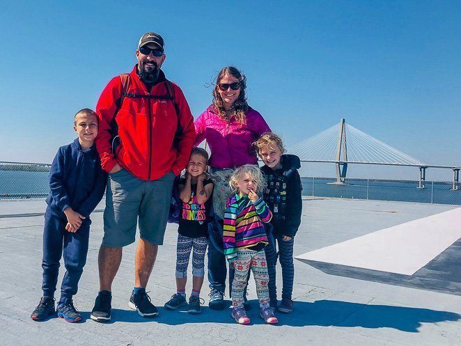 Charleston SC things to do with kids - family