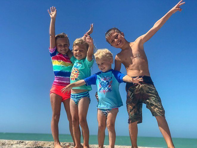 Let's Travel Family - Kids at the Beach
