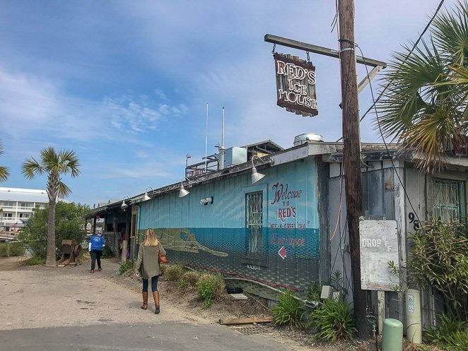 Red's Ice House - Where to eat in Charleston SC