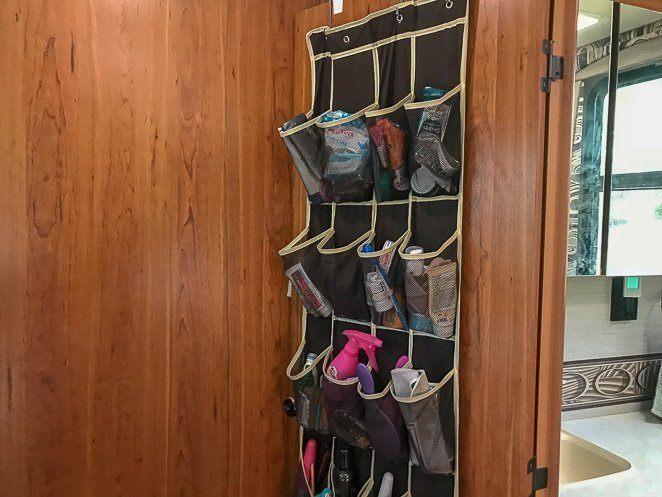 Lifestyle RV Stuff - Bathroom Organization_