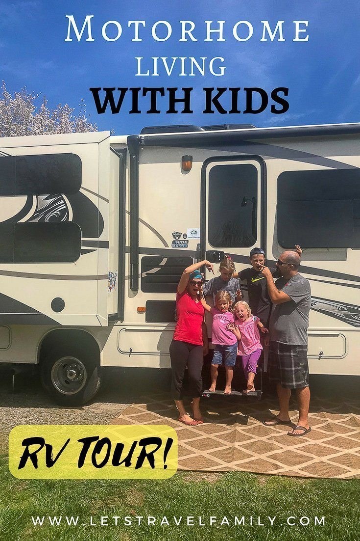 Living in a motorhome full time with kids
