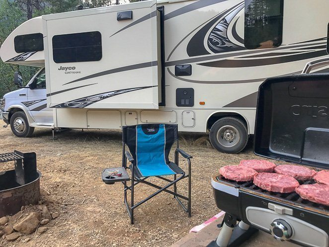 RV Living - where we often cook our food