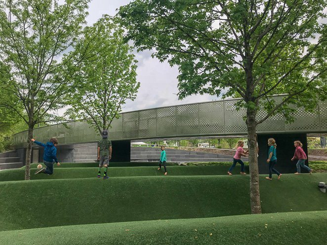 Cumberland Park - Free things to do with kids in Nashville TN