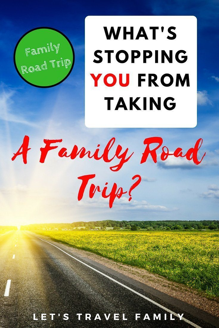 What's Stopping You From Taking A Family Road Trip? Check out these family travel tips to help you get started on seeing your bucket list destinations with your kids. #roadtrip #familytravel #usatravel