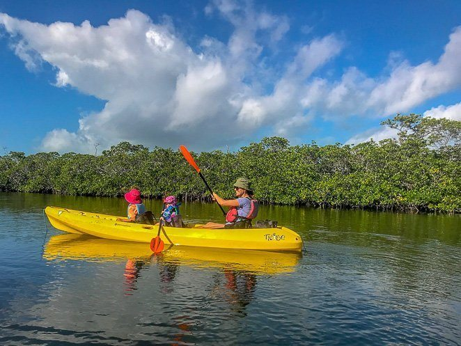 Kayaking with Kids Let's Travel Family_