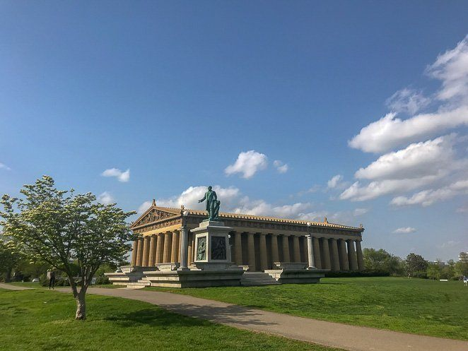 The Parthenon Nashville - Things to see in Nashville_