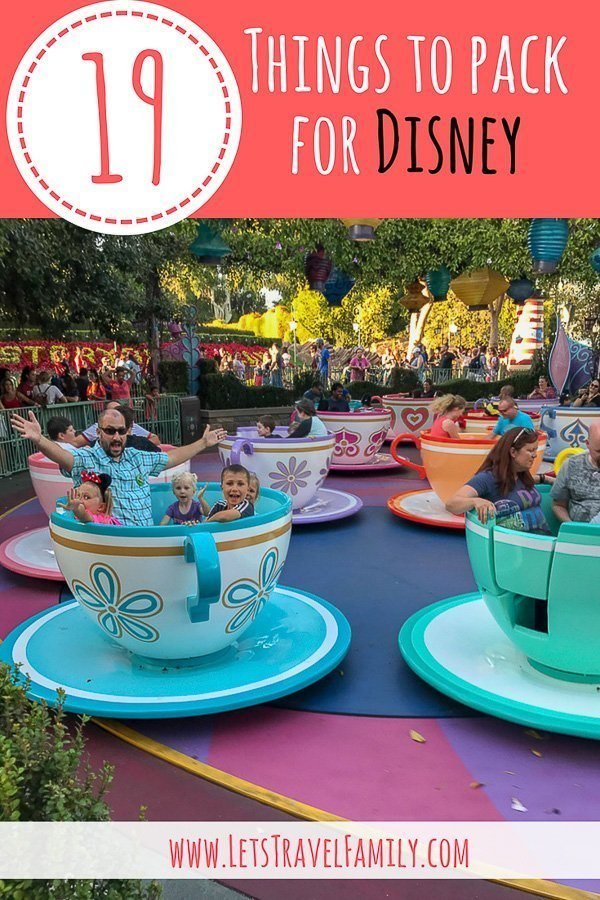 19 Things To Pack For Disney_