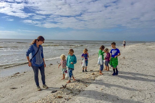 Collect Seashells on Sanibel Island Florida - Travel Bucket List_