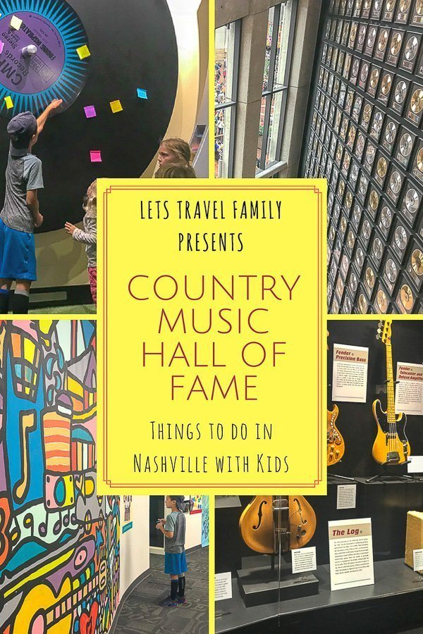 Country Music Hall of Fame Museum Nashville with Kids