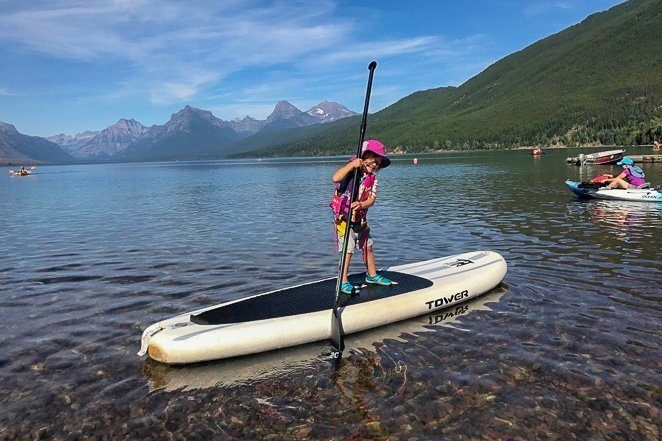 Go Paddle boarding - Good Bucket List Ideas