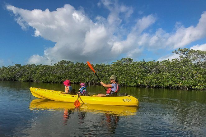 Kayaking - Simple Bucket List Ideas for families