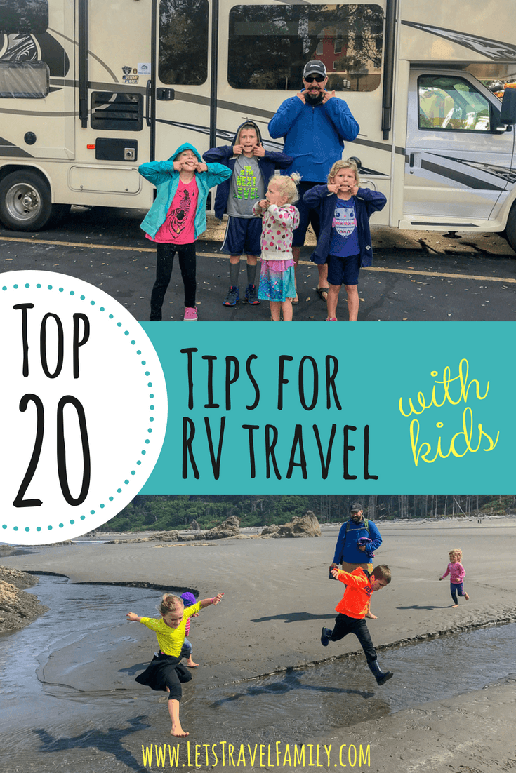 Top 20 tips for traveling with kids.