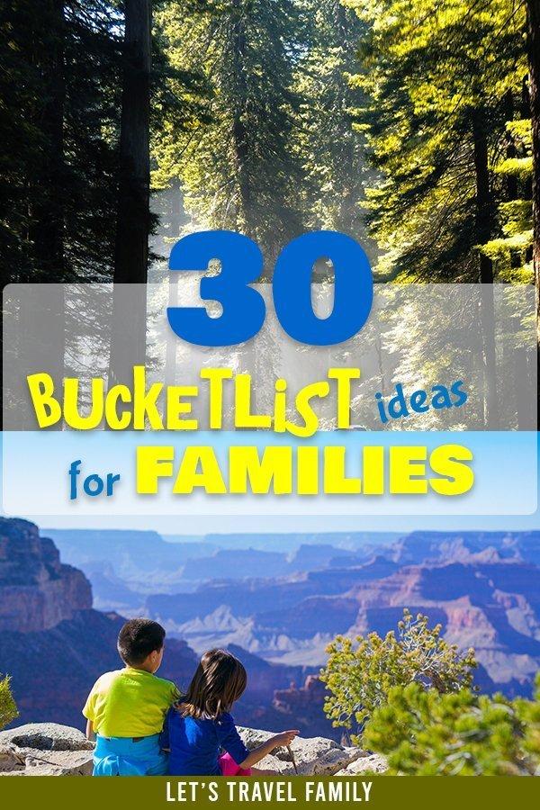 Simple Bucket List Ideas For Families