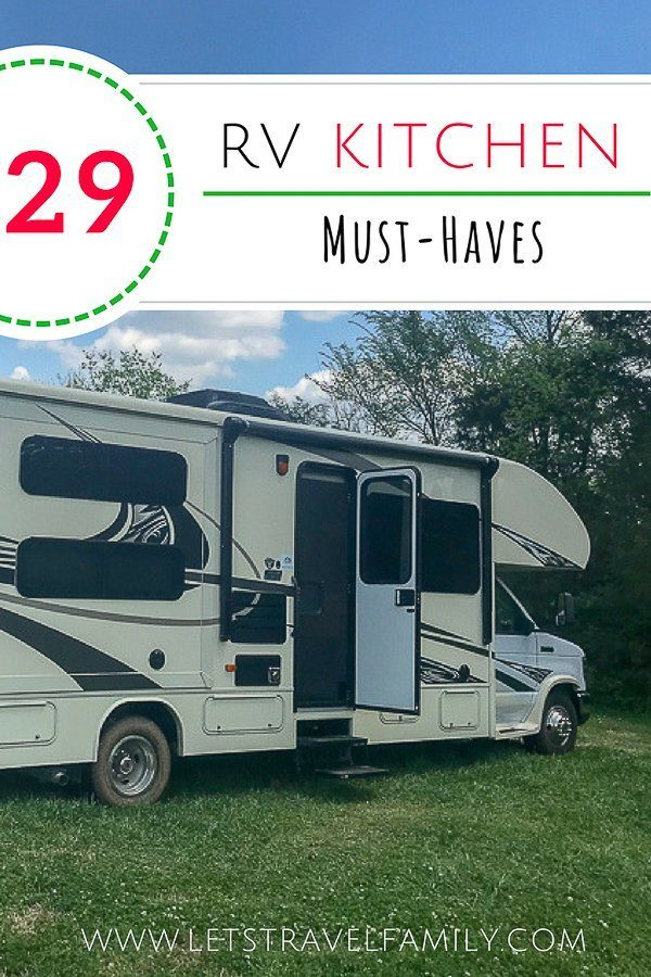 29 RV Kitchen Accessories You Must Have