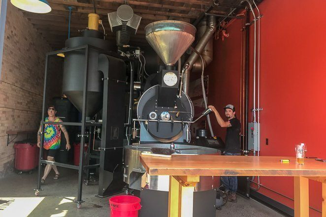 Fun things to do in Minnesota - Watch grinding of coffee beans at Duluth Coffee Company