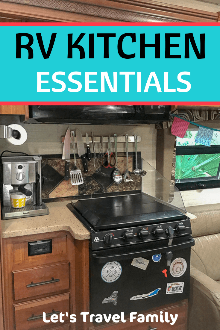 RV KITCHEN ESSENTIALS