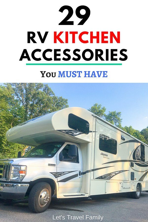 29 RV Kitchen Accessories You Must Have Today