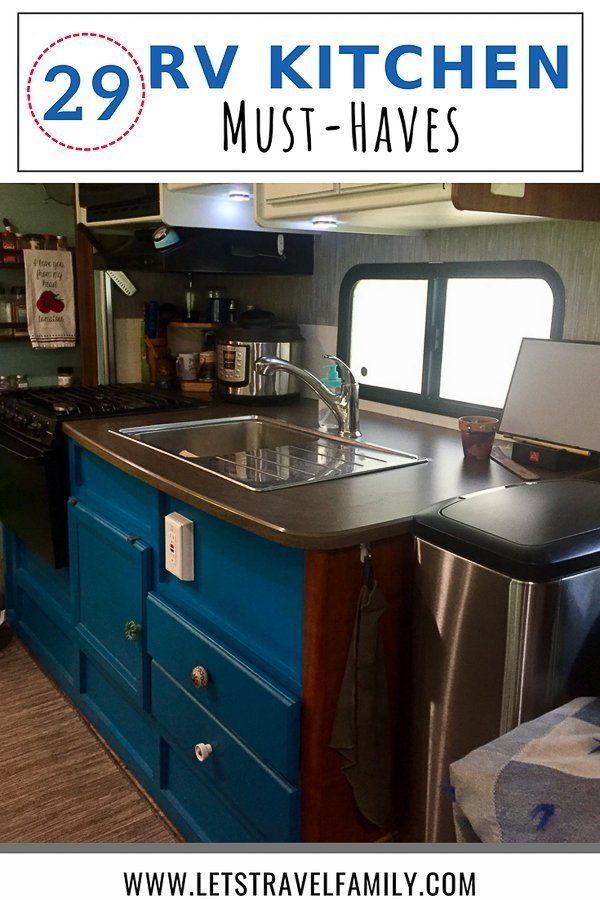 RV Kitchen Accessories you must have