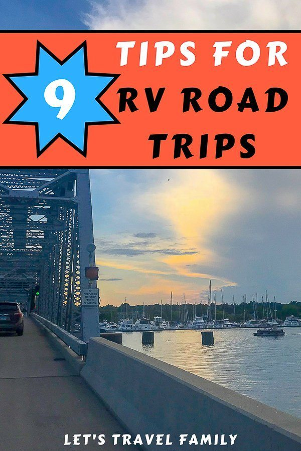 Tips for RV Road Trips_