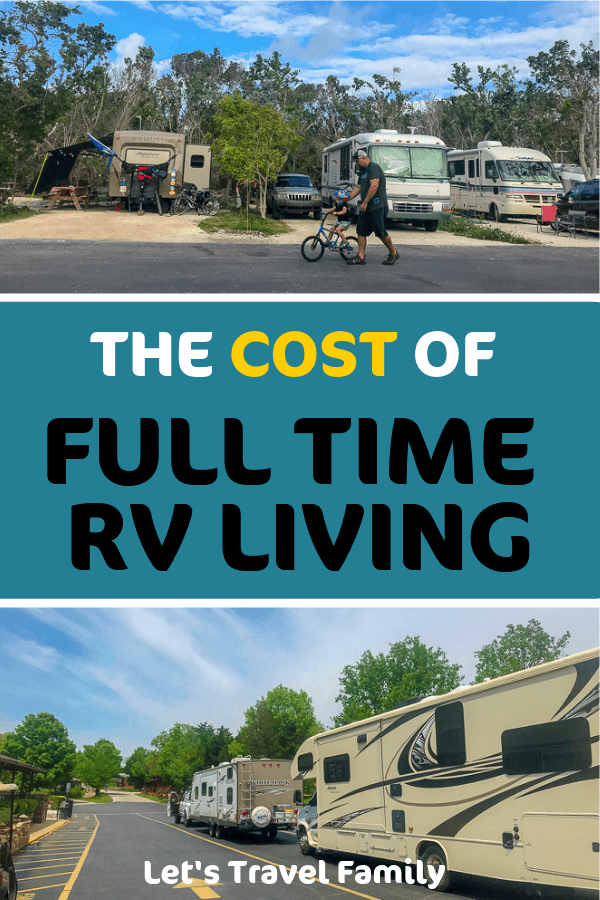 Cost of Full time RV Living