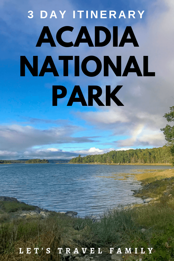 Are you planning a family vacation or trip to Acadia National Park in Maine? We enjoyed 2 weeks in Acadia NP and provide you a detailed 3-day itinerary to help you with your travel plans. #acadia #travel #trip #familytravel #nationalpark #acadianationalpark #maine
