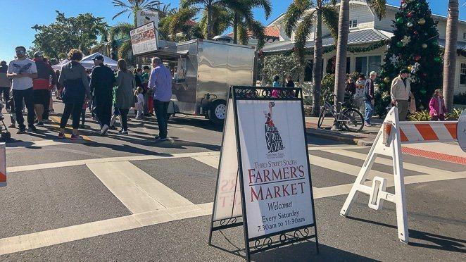 3rd St. Farmer's Market - Naple's Florida