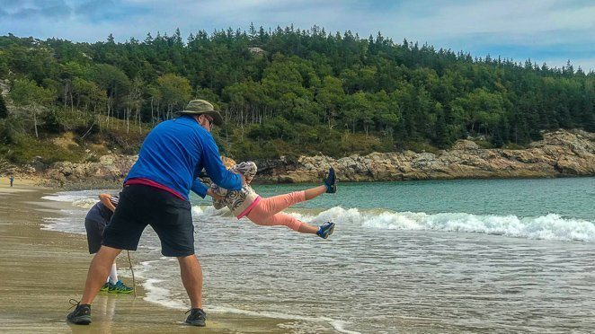 Acadia National Park with kids_