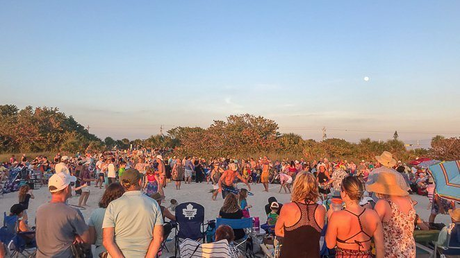 Drum Circle - Nakomis Beach Florida