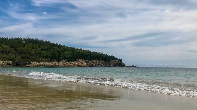Sand Beach - Acadia National Park