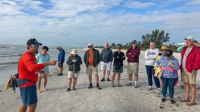 Sanibel Sea School - Shell Hike on Sanibel Island