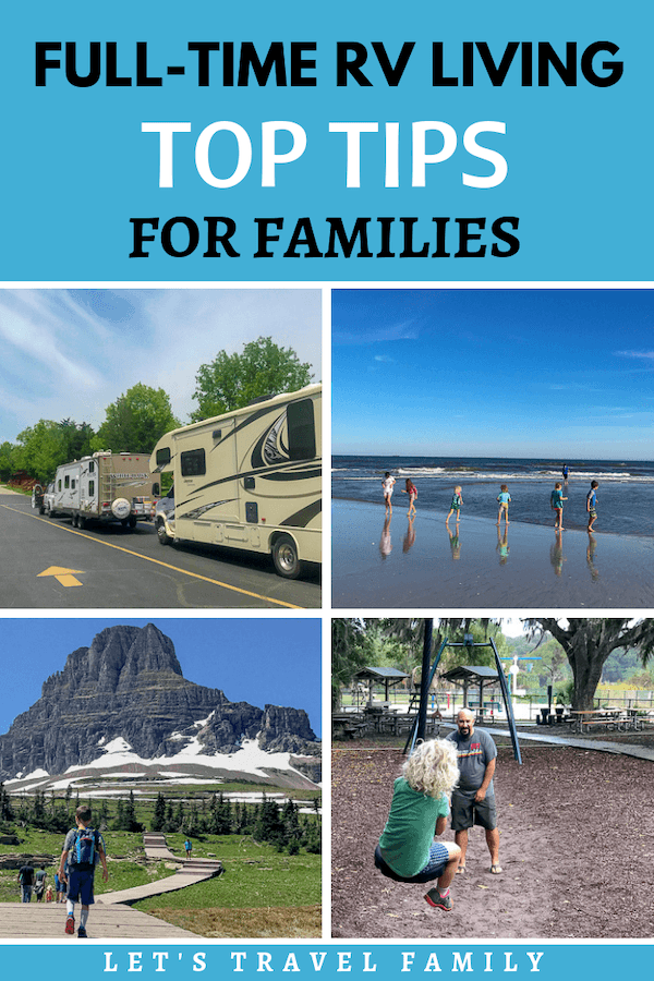 Full Time RV Living Tips for Families