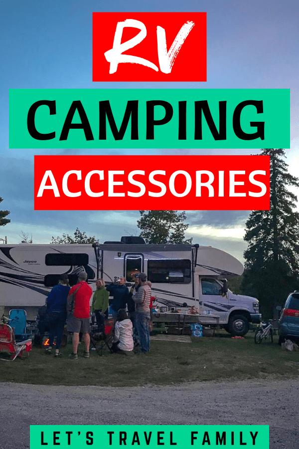 Fun RV Camping Accessories for an RV