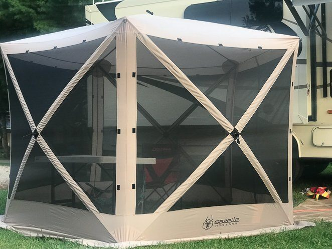Gazelle Tent - RV Office Idea
