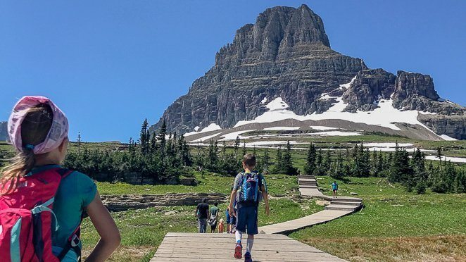 Learn by experience - Glacier National Park Bucket List with kids