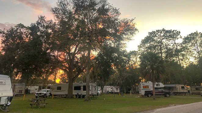 Thousand Trails RV Parks in Florida