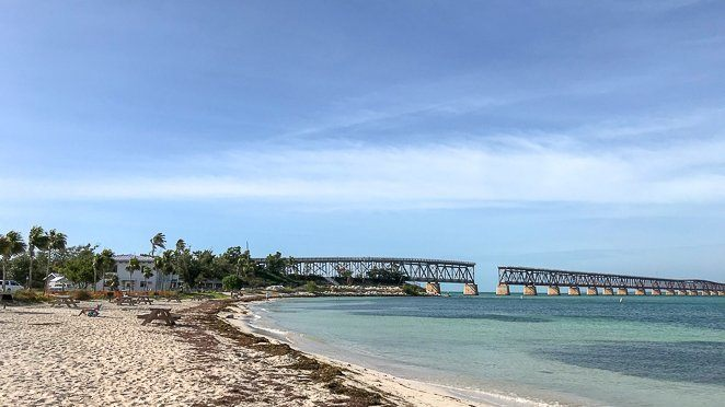 Bahia Honda Bridge - Must visit during a Florida Keys Road Trip