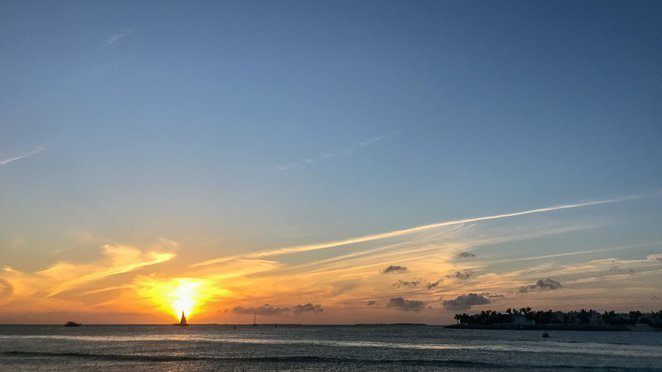 Best time to visit Key West - Winter for the Mallory Square Sunsets