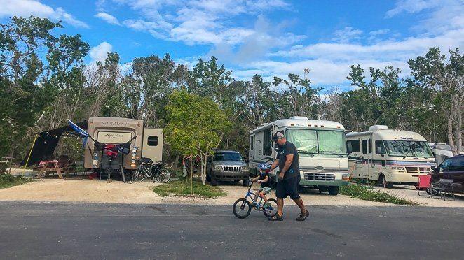Florida Keys Campgrounds - John Pennekamp State Park