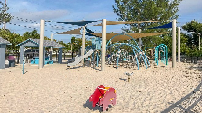 Free things to do in Key West with kids - Higgs beach playground